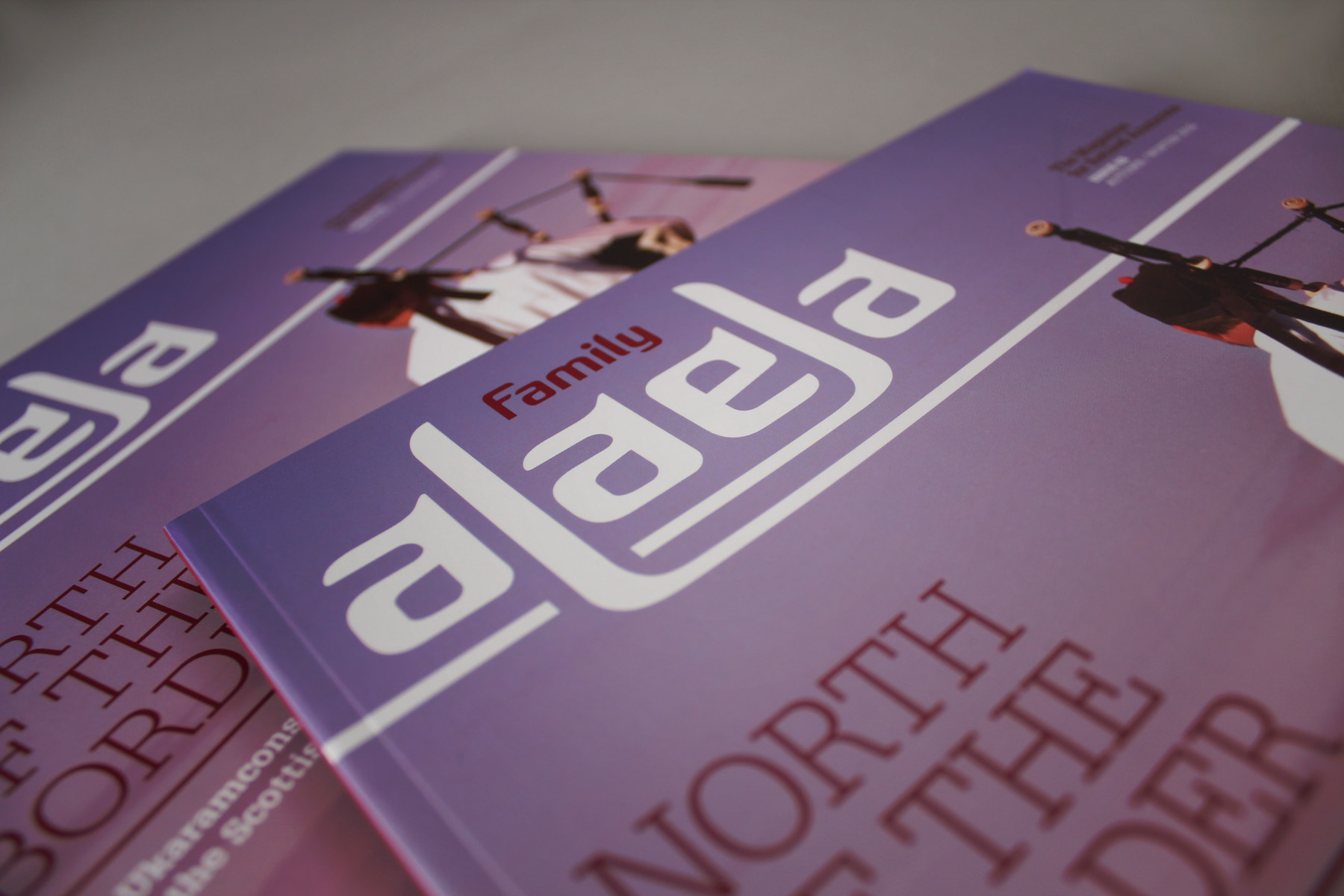 We have created a number of publications for AOC across a wide audience. Alaela is aimed at retirees and AOC alumni.
