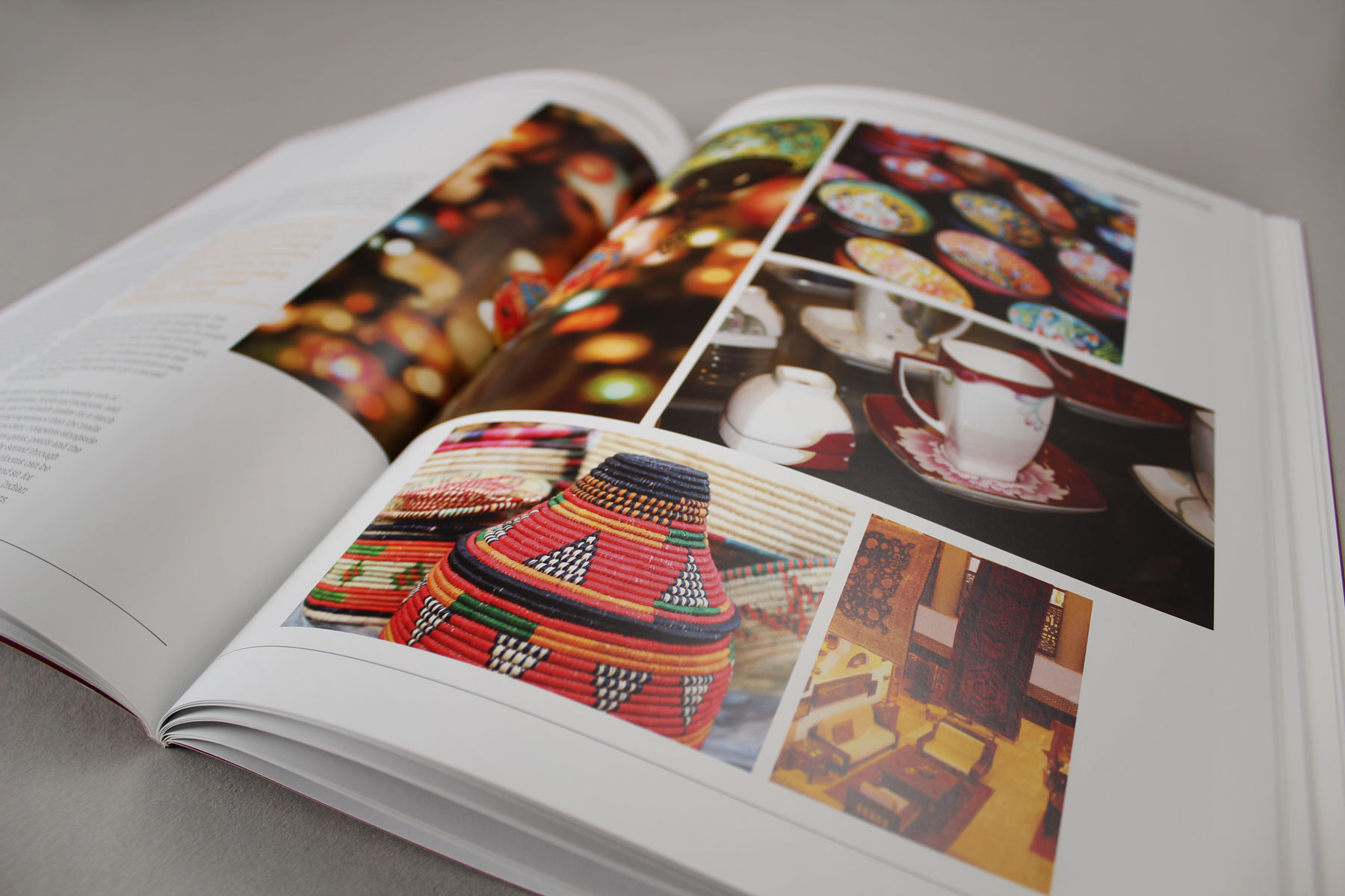 The images play as much of a part as the text in creating an informative and enjoyable read.