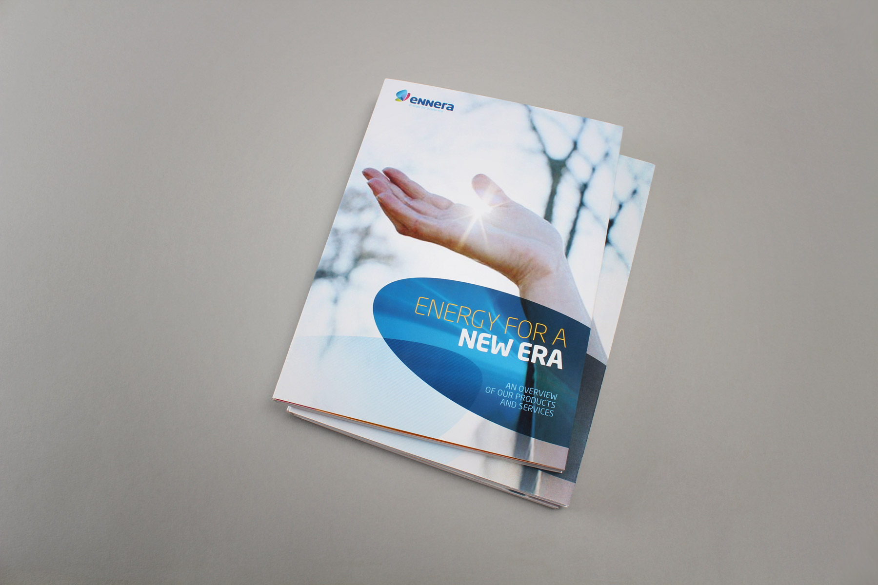 The look and feel for communications utilises emotive imagery combined with simple panels of colour.
