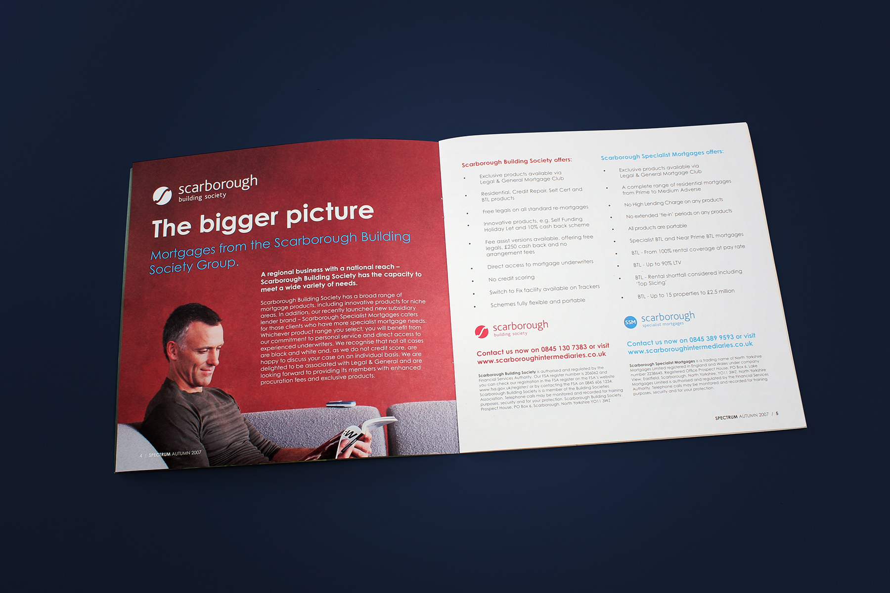 We used combinations of clear white space and people focussed imagery to convey the content in an accessible format.