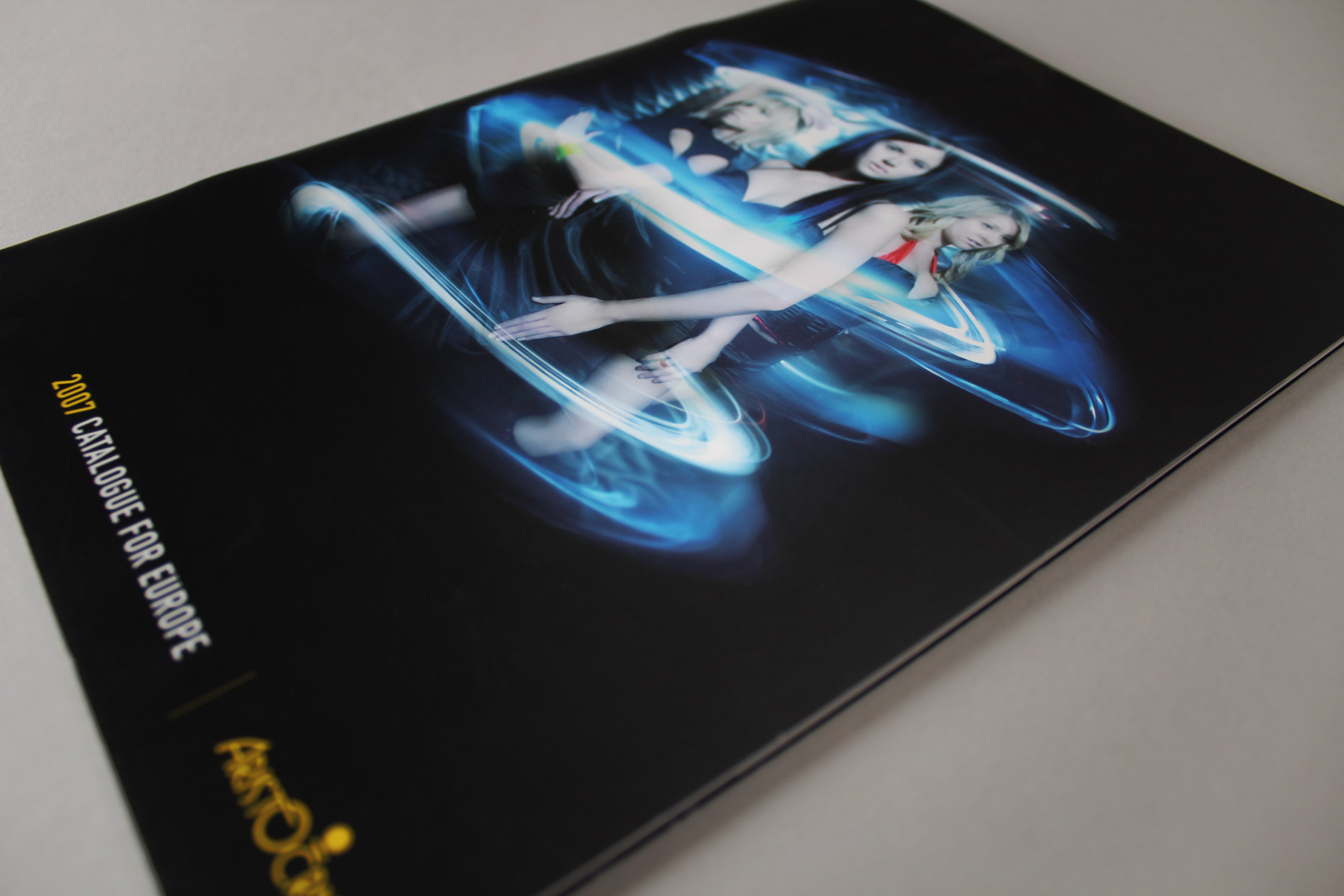 The campaign also extended to the marketing communications for the entire year. Here is the extensive product brochure