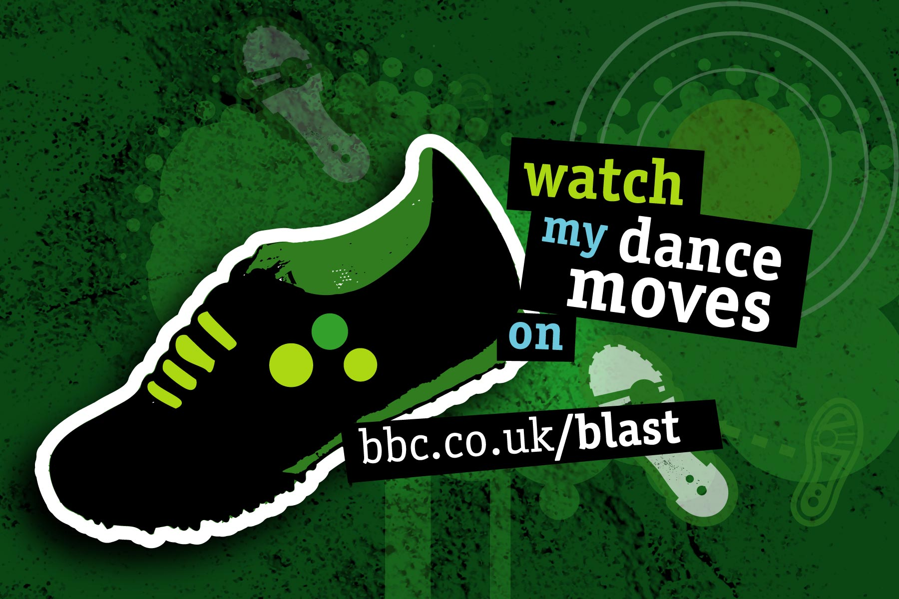 We provided assets for all creative disciplines - For example, dance within this image. We also created assets for mobile and the Blast on Tour roadshow environment.