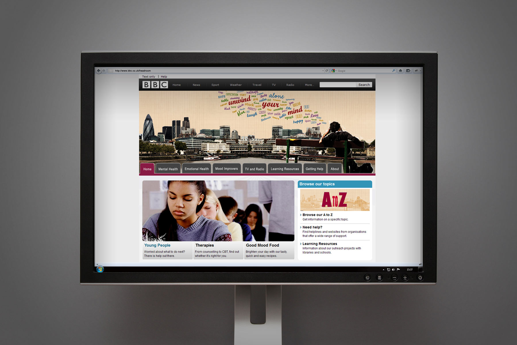 The guidelines show the look and feel adapted to the online environment.
