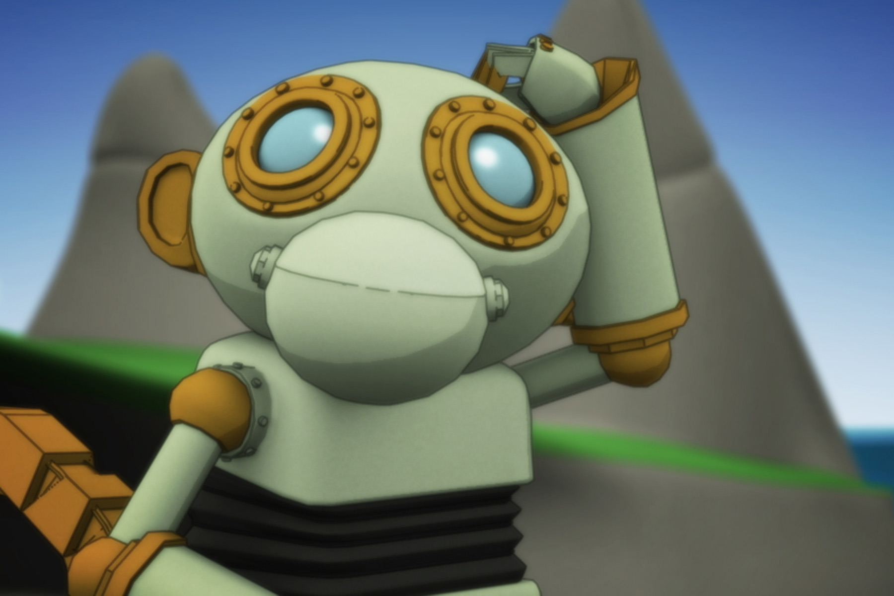 All the characters completely rigged and animated in a 3D environment. Cookie being the easiest - He is made of machinery!