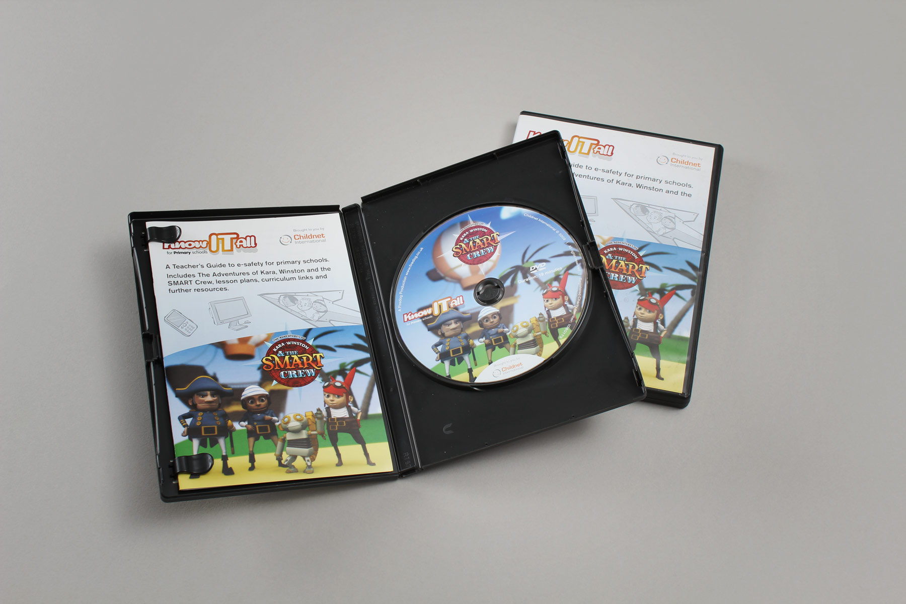 The DVD pack contains both the animations and also a handy teachers resource kit, showing how to use the animation in class. Keep an eye out for the Mexican edition, released only recently!