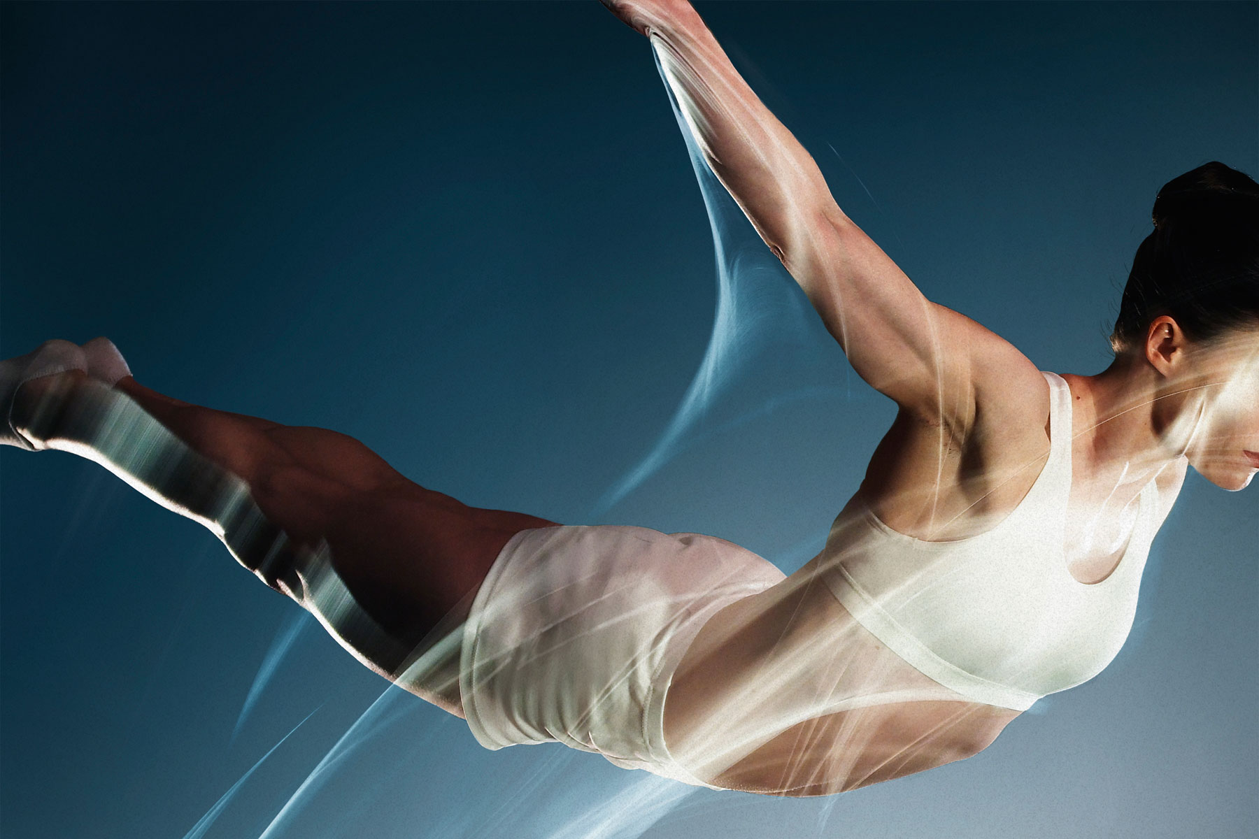 We created both full frame and detail imagery, where we captured a single gymnast up close. These images are especially useful for creating dynamic crops.