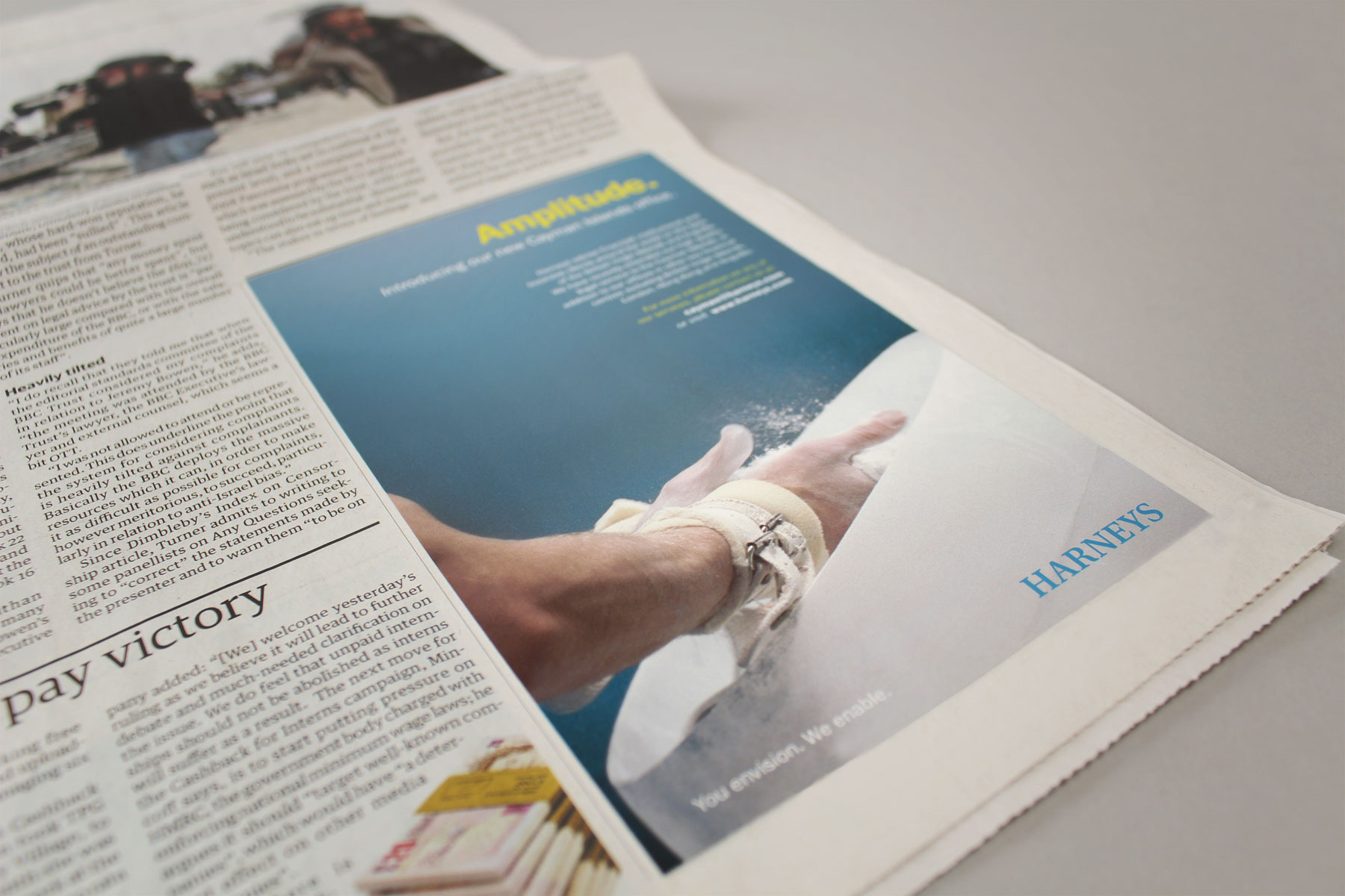 The project deliverables included the design of an above the line campaign around brand launch.