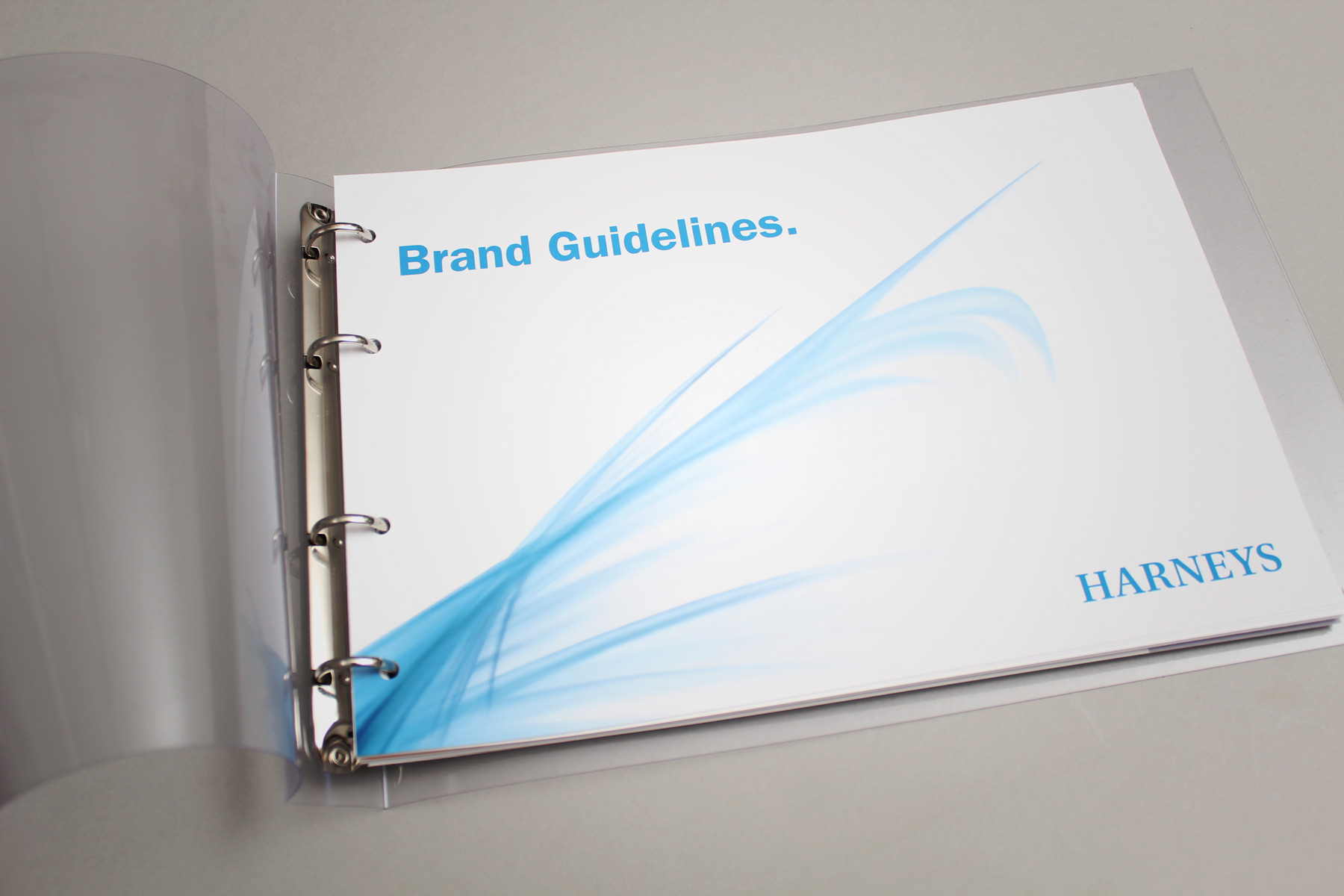 A full set of comprehensive guidelines ensured control and consistency.