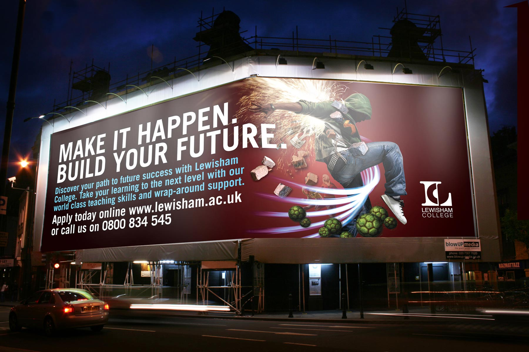 The campaign utilised the powerful imagery to its greatest effect supported with hard hitting copy and a strong call to action.