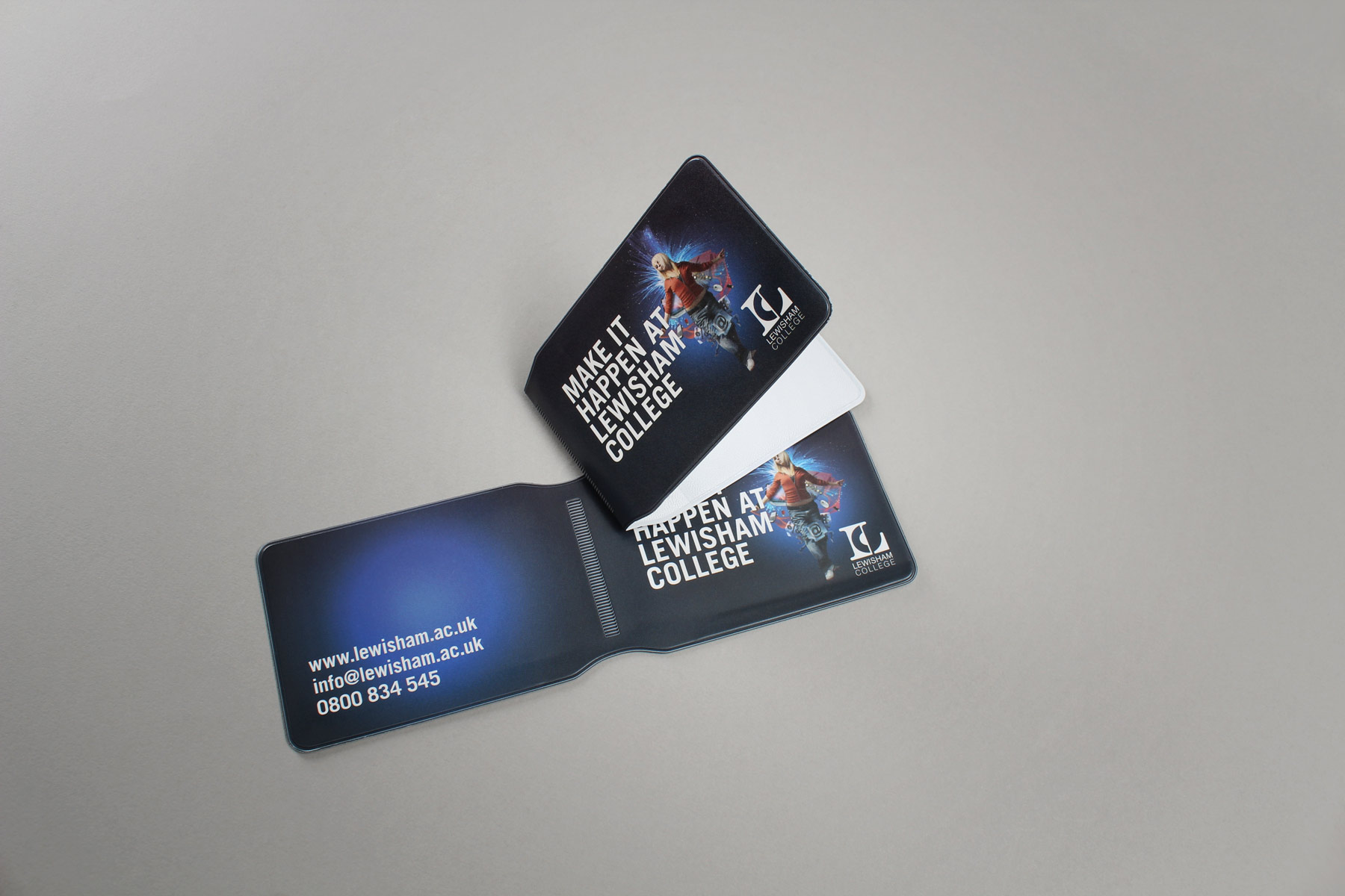 The campaign also extended to merchandising - Such as a handy travelcard wallet. Very useful in London!
