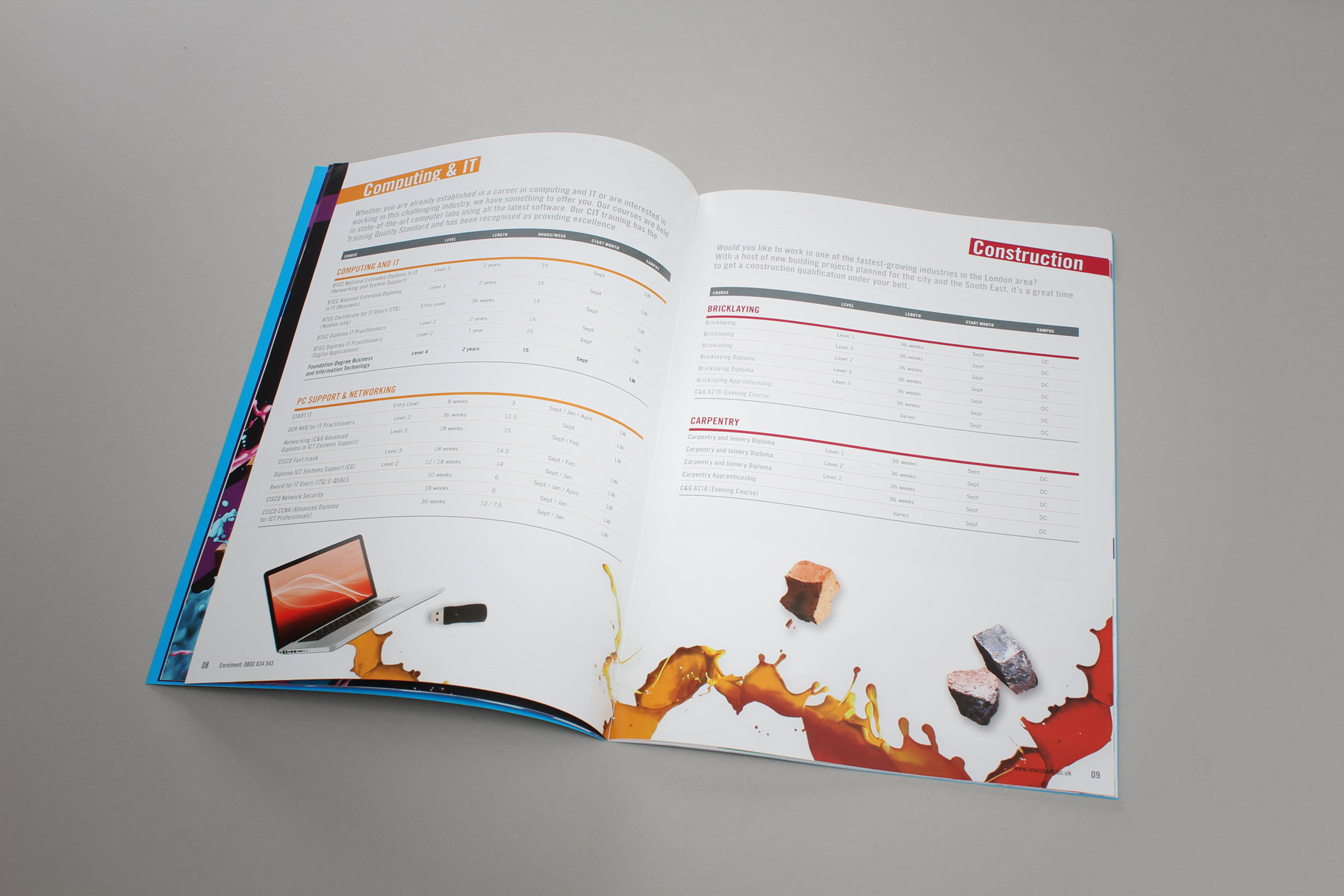 The resulting combination of formal layouts and dynamic imagery makes for both a confident yet accessible publication.