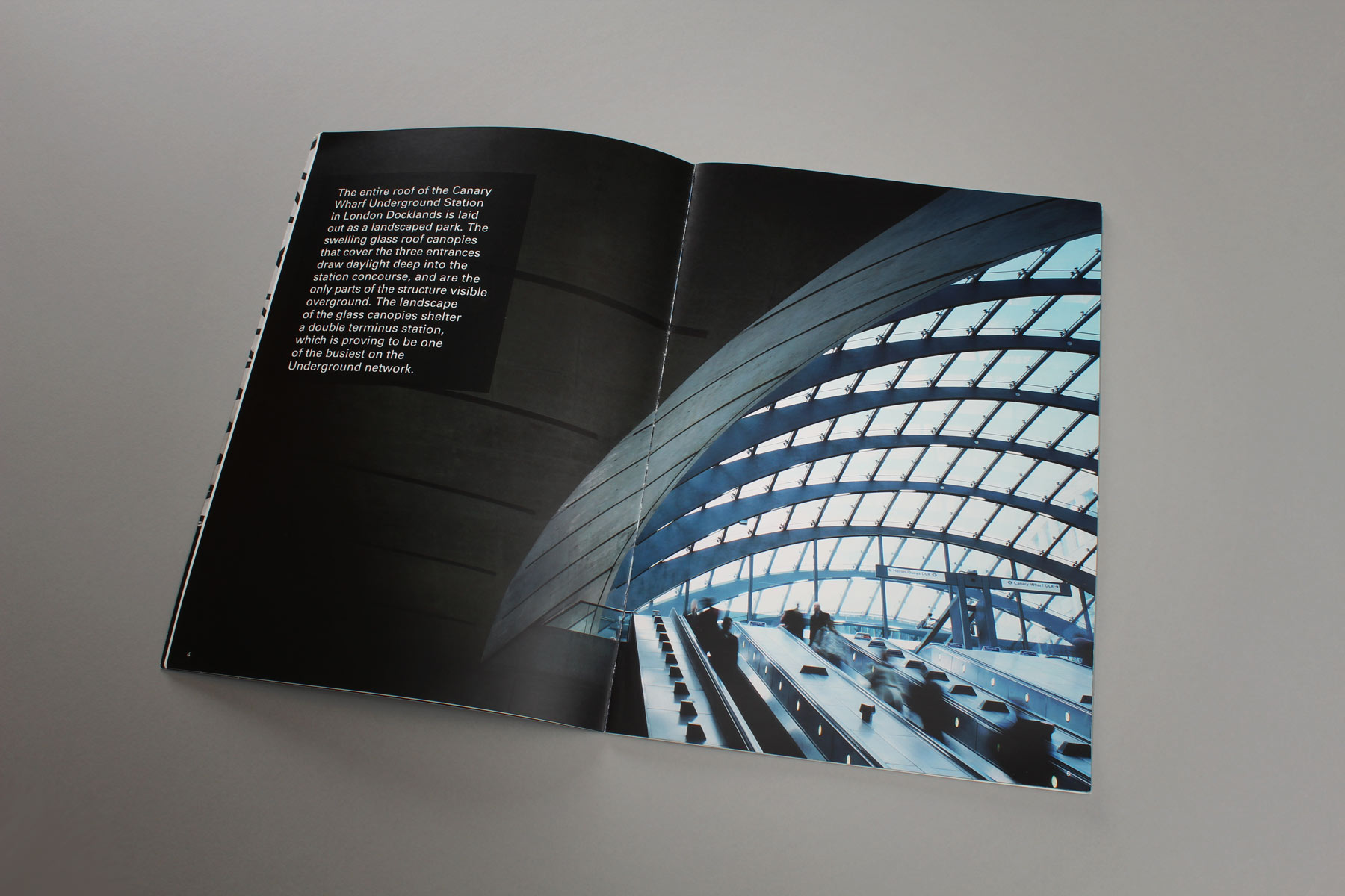 The use of bold imagery and key statements enables the publication to raise interest amongst its readers.
