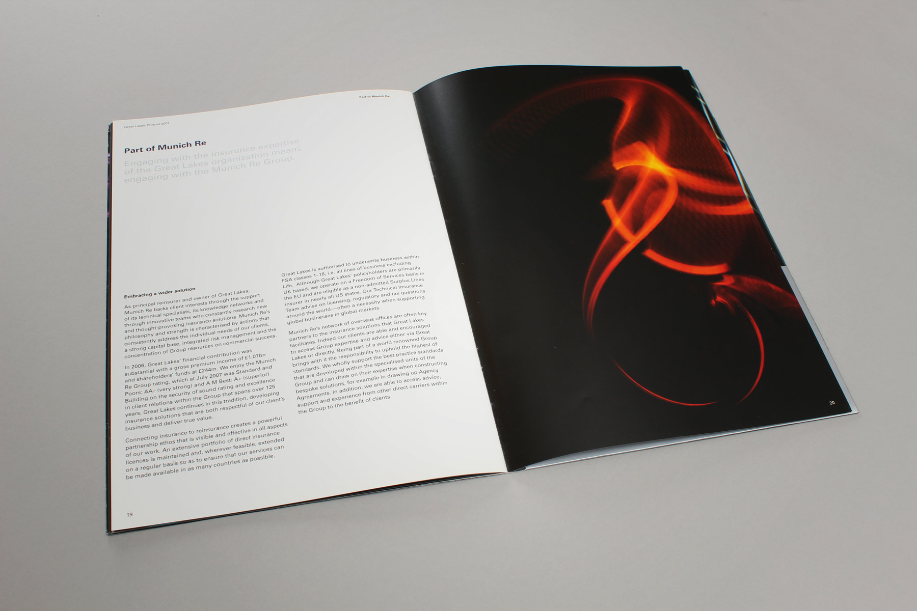 Due to the creativity behind the shoot, we were able to retain interest throughout the 24 page publication.
