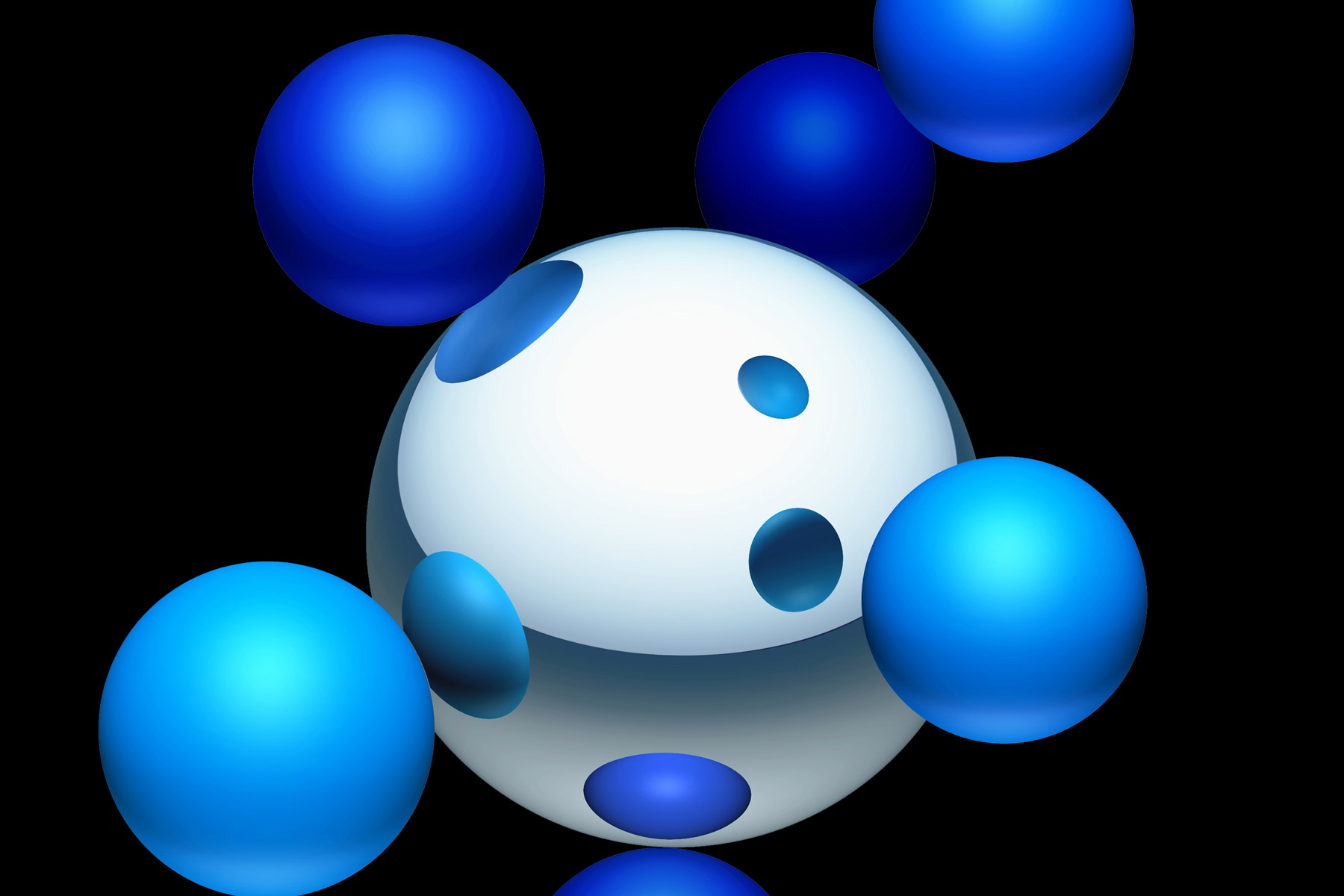 The brand logic behind the identity is based on the fact that all core Sasol products are built around a Hydrogen Carbon atom combination. In addition, the six atoms represent their six business and products units.
