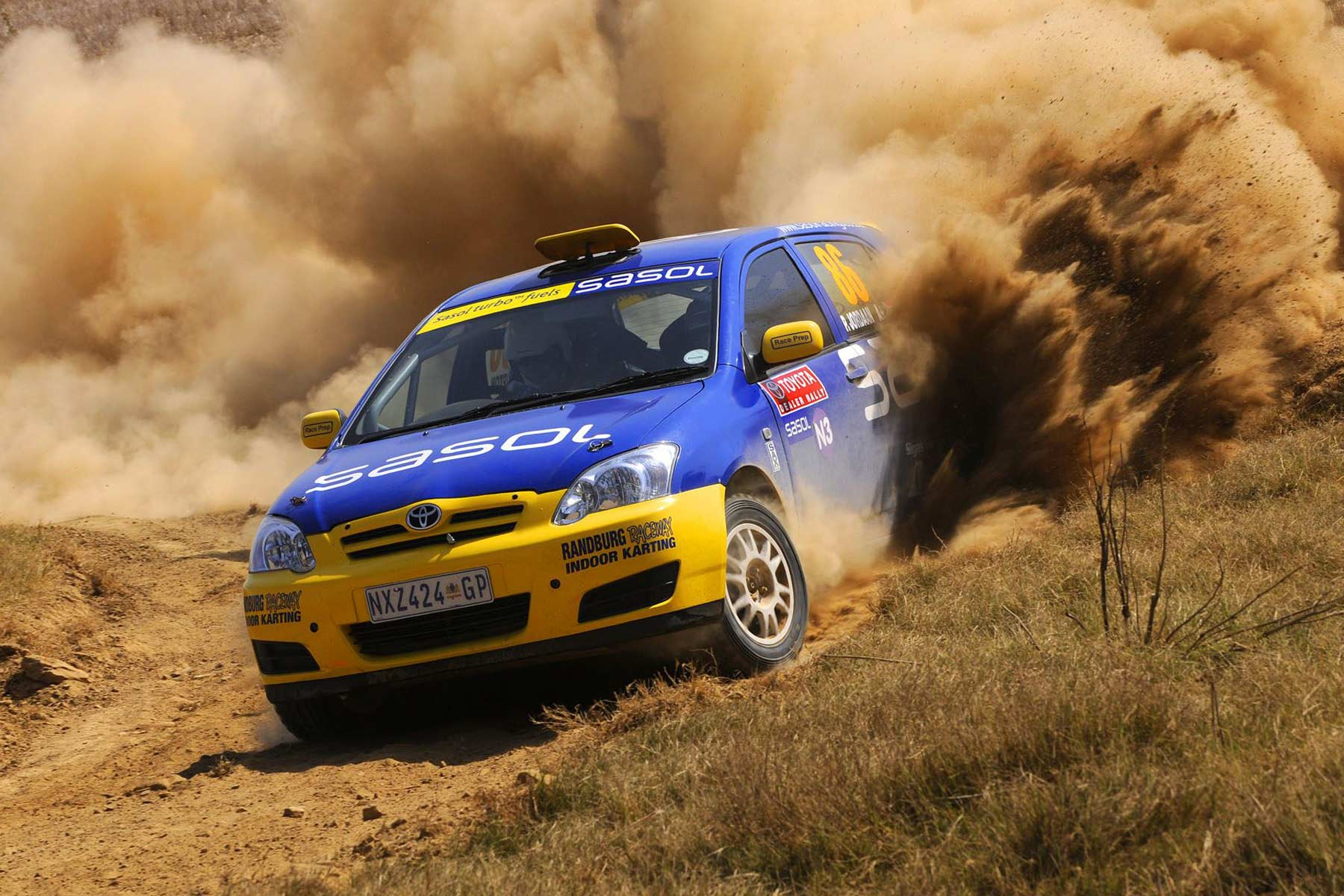 Sasol actively engages in sponsorship in both rally and track motorsports.