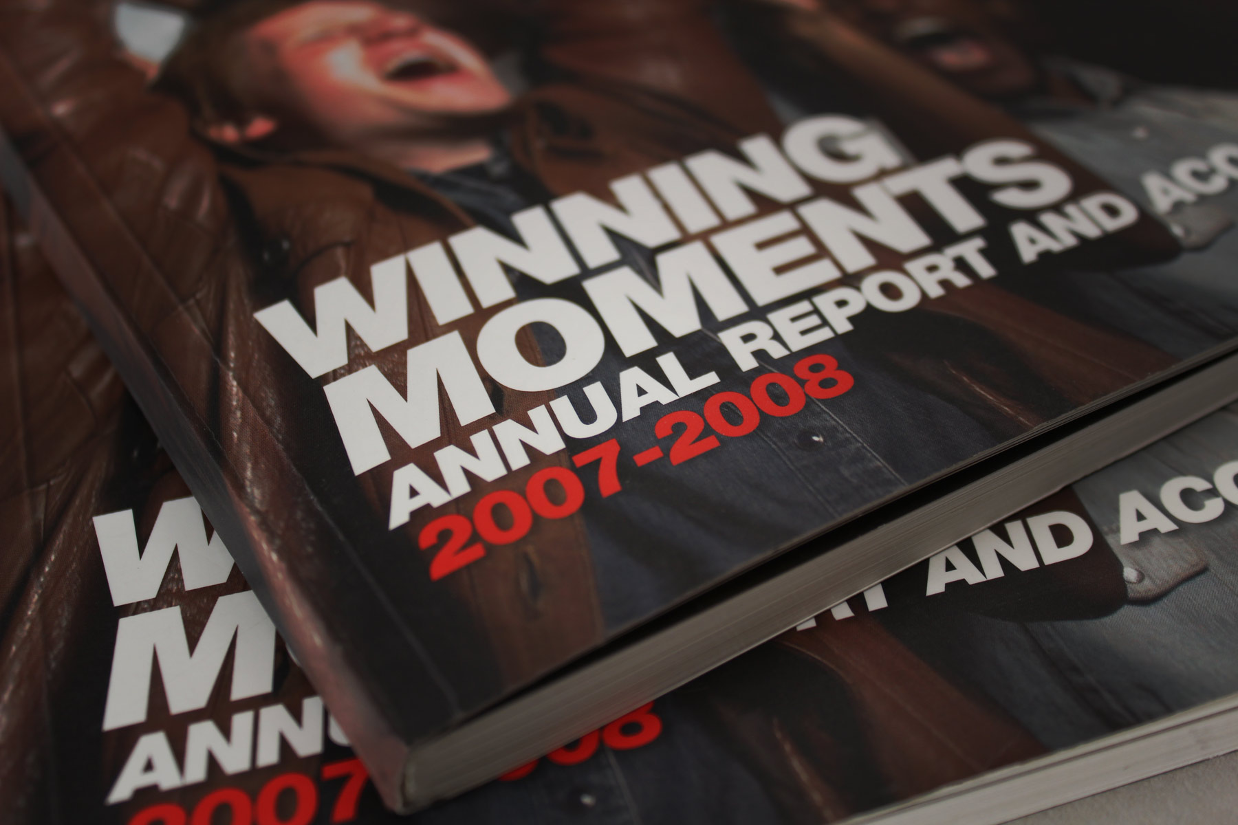 The Winning Moments moniker reflects a good year financially for the business.