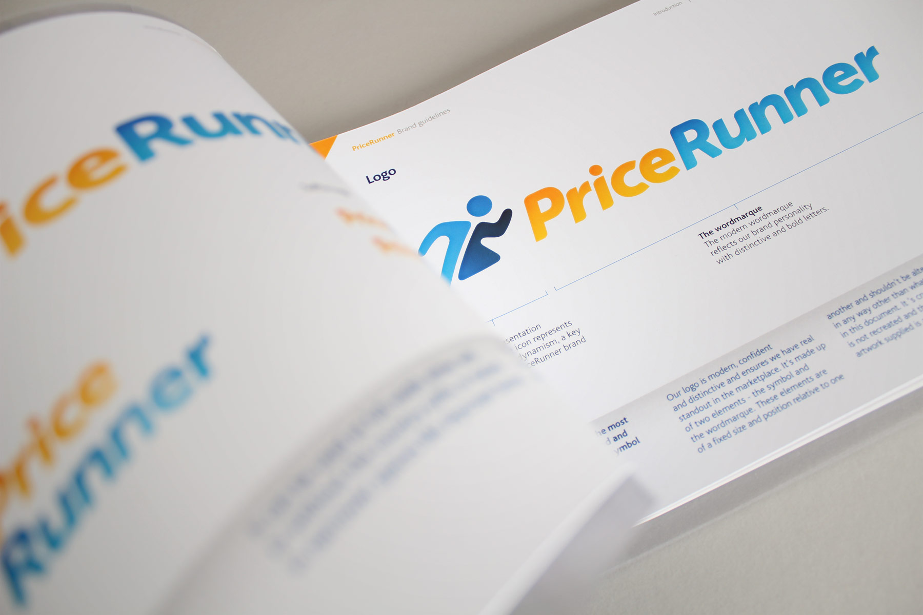 We have created a full set of tone and brand guidelines designed to support the internal PriceRunner marketing teams.