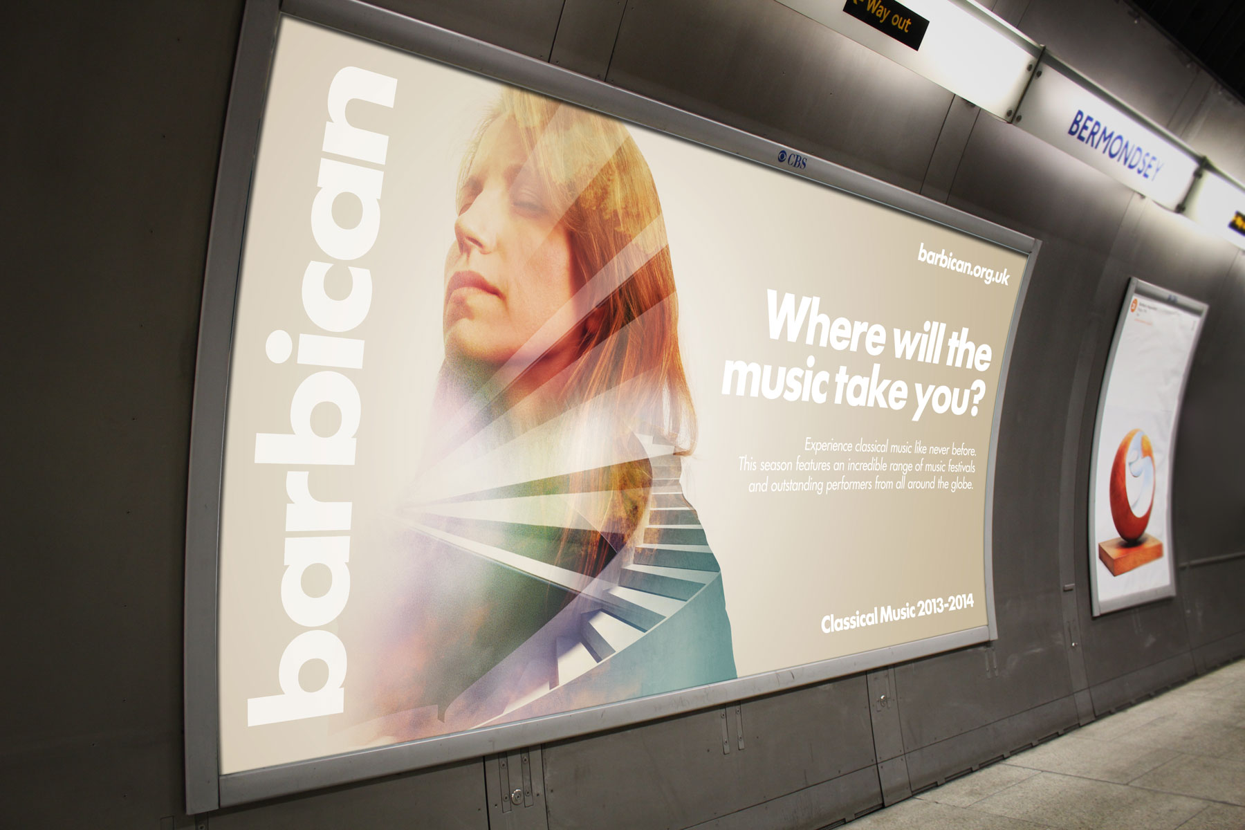 The campaign has run for four weeks with 255 posters across 129 London Underground stations.