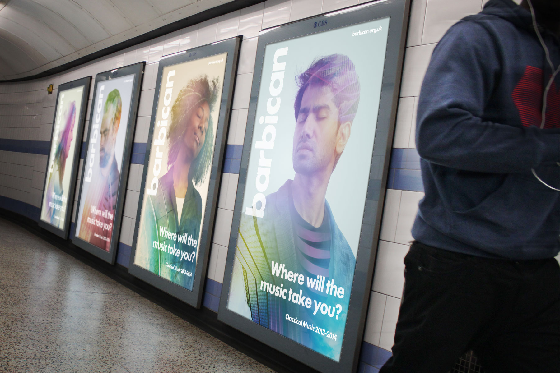 The extensive placement of media on the Tube combined with the broad use of varying assets created a recognisable and striking campaign.