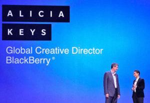 Alicia keys - Creative Director of Blackberry
