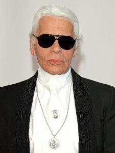 Uptight dresser - Karl Lagerfeld