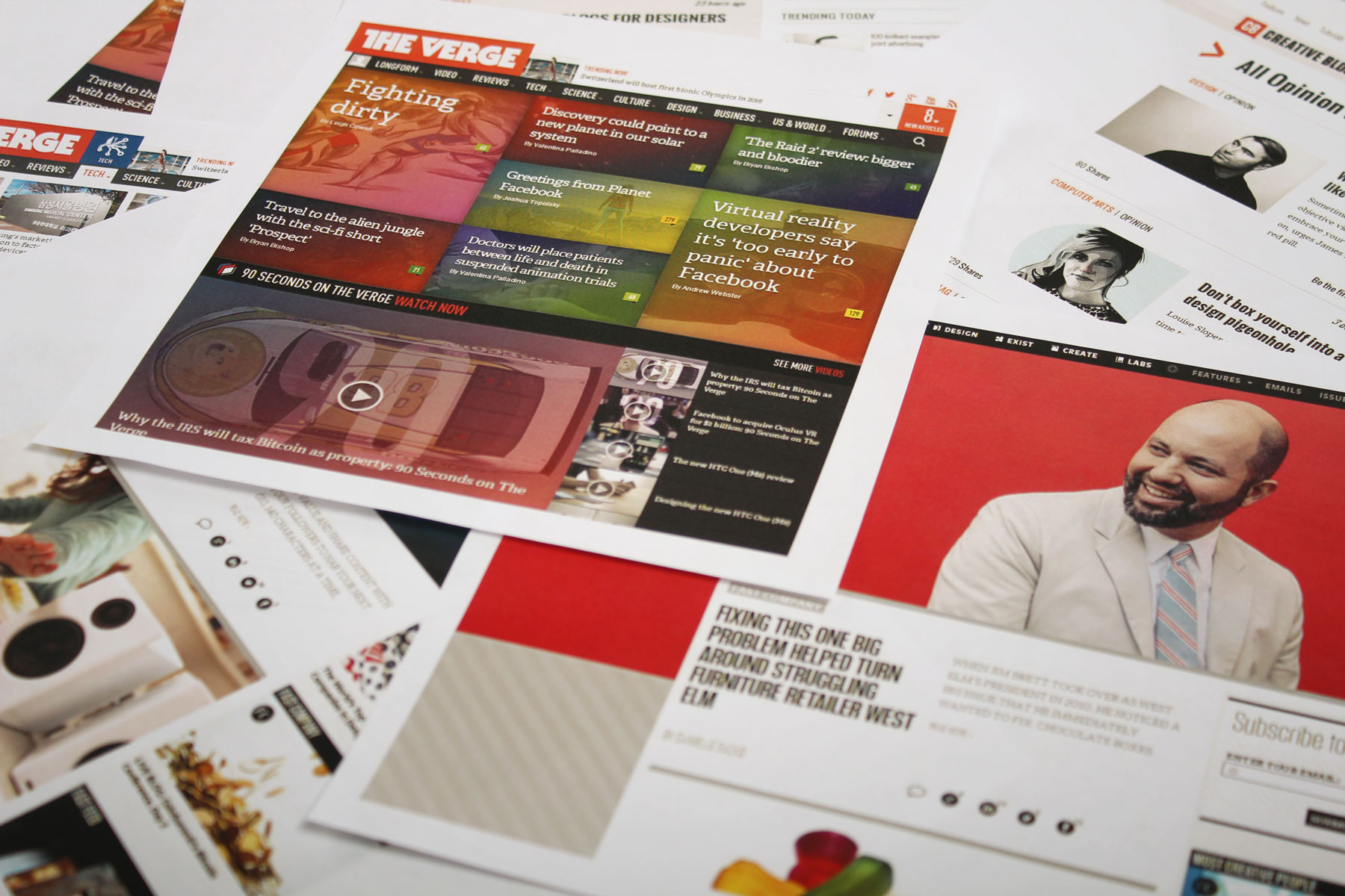 Our focus was to create an engaging and content-focused user experience