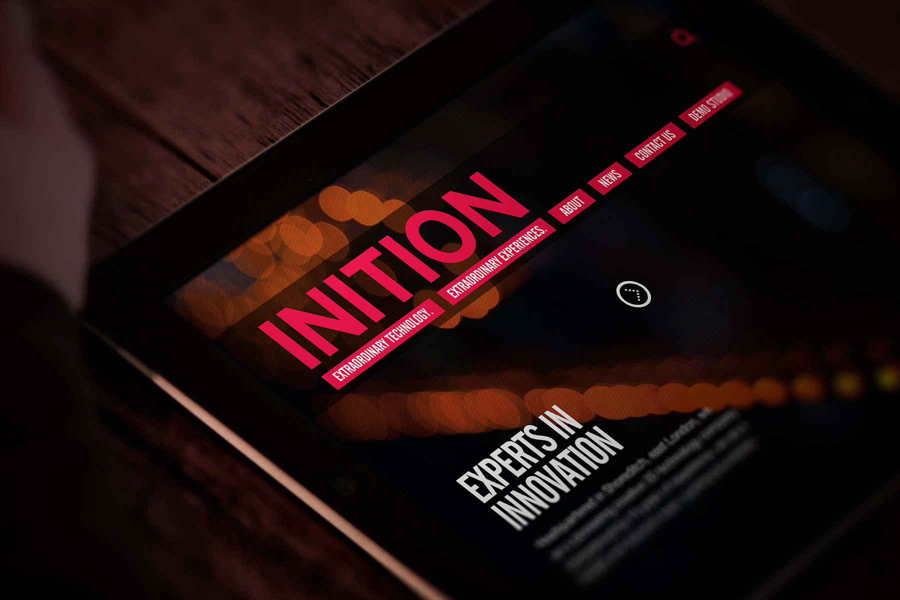 INITION   RESPONSIVE WEBSITE DESIGN AND BUILDRESPONSIVE WEBSITE DESIGN AND BUILDINITIONWebsite redesign for a pioneering interactive production company and emerging technology provider.