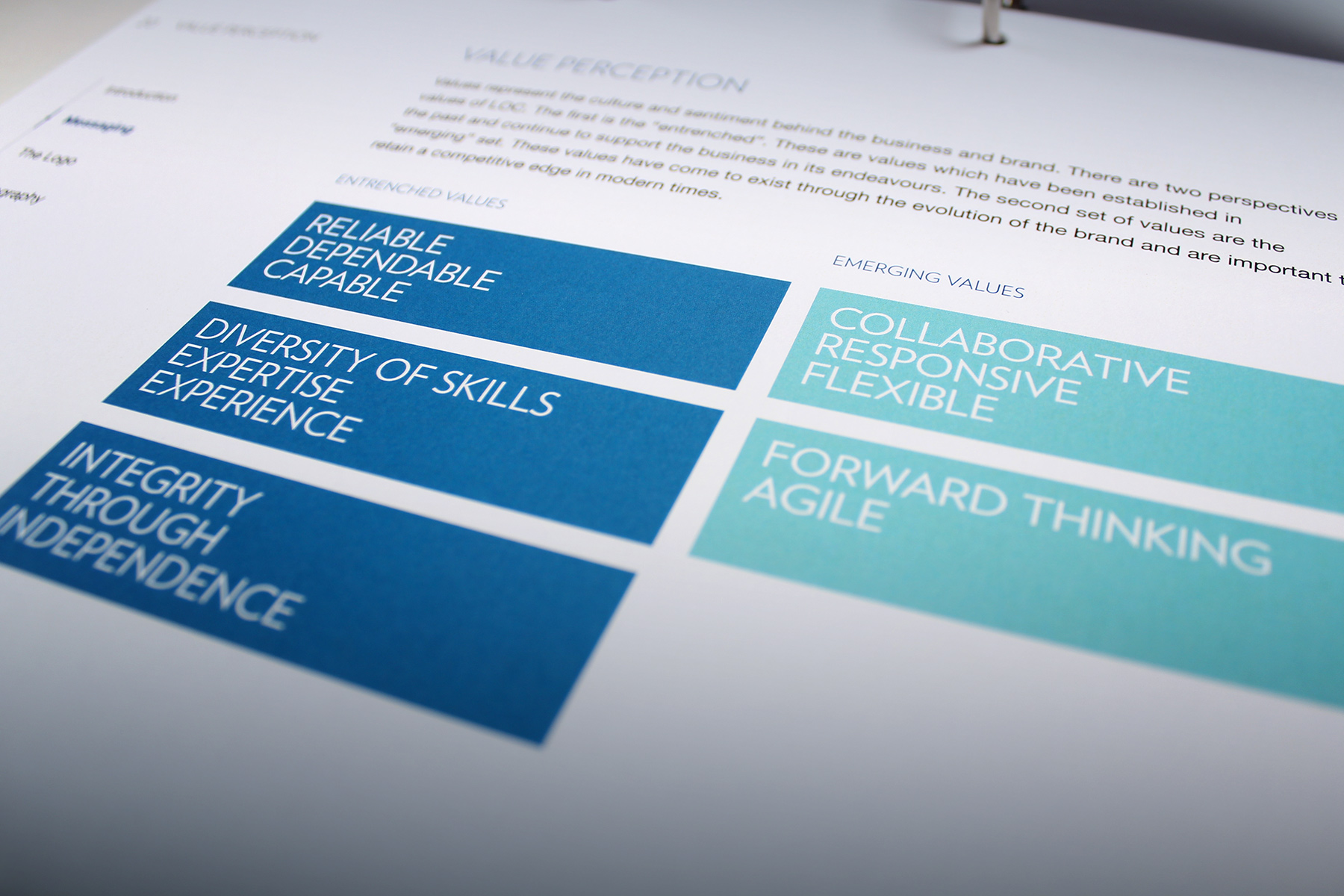 We used research findings and strategic insights to develop a unified global brand positioning.