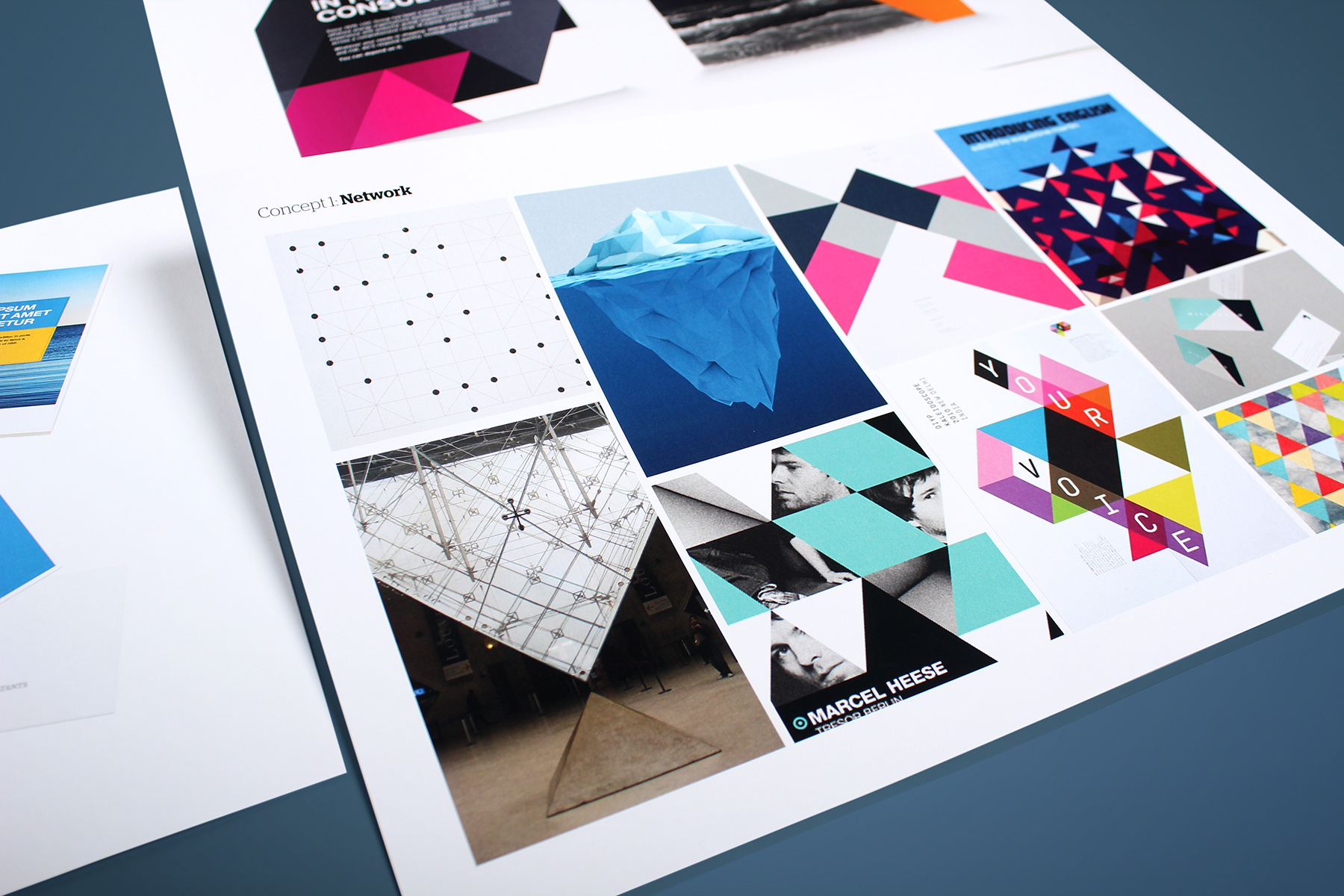 Our visual identity look and feel concept became inspired by the idea of global connectivity mashed up with a contemporary nautical twist.