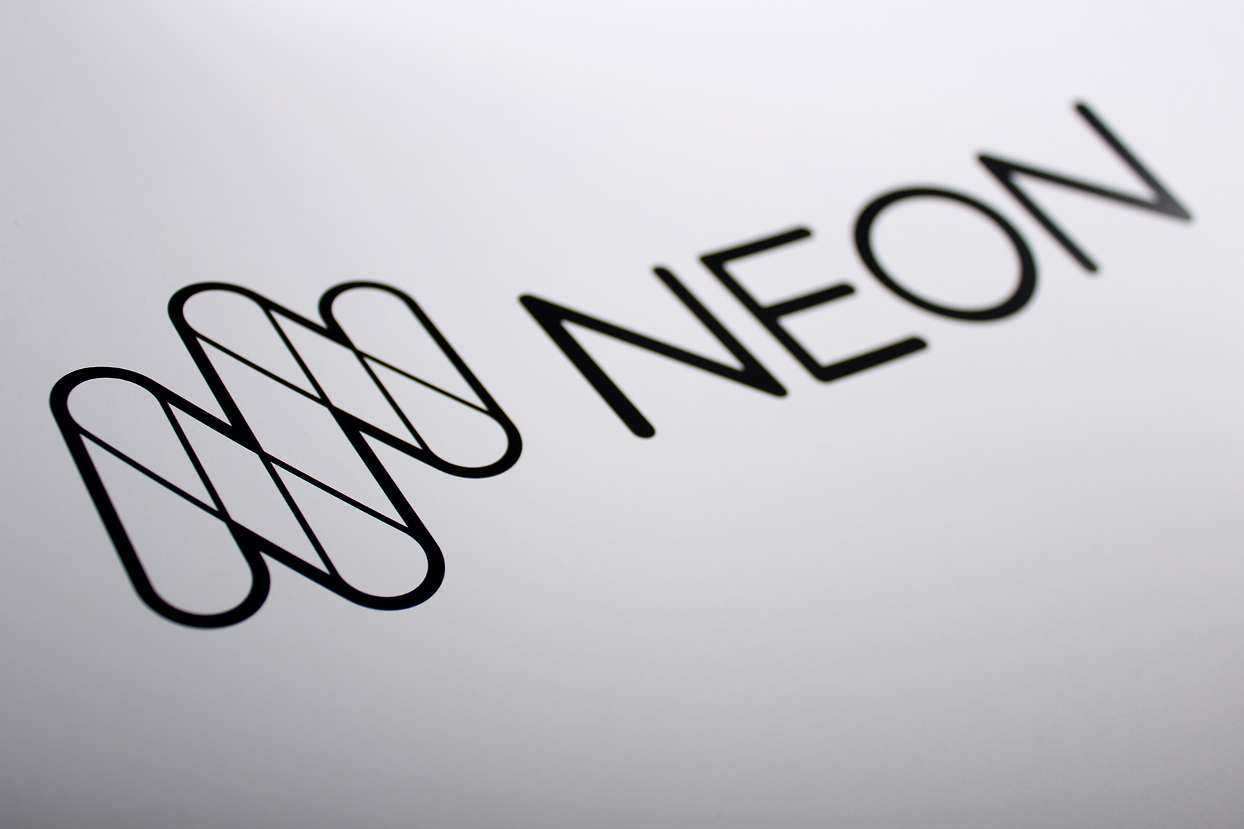 A single colour version of the mark was created afresh, to be used for etching, merchandising and single colour print.