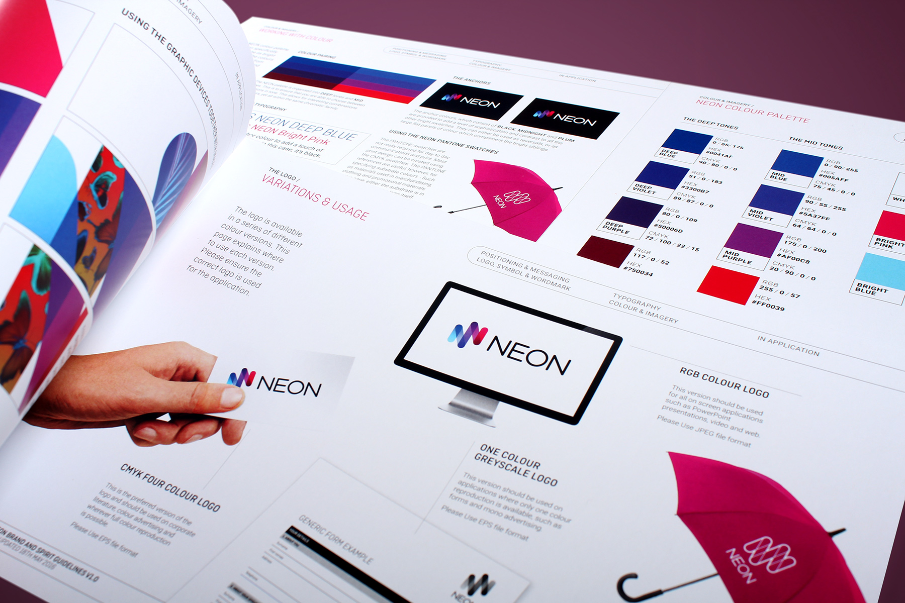 The branding process was supported by a comprehensive brand, spirit, communications and digital guideline kit.