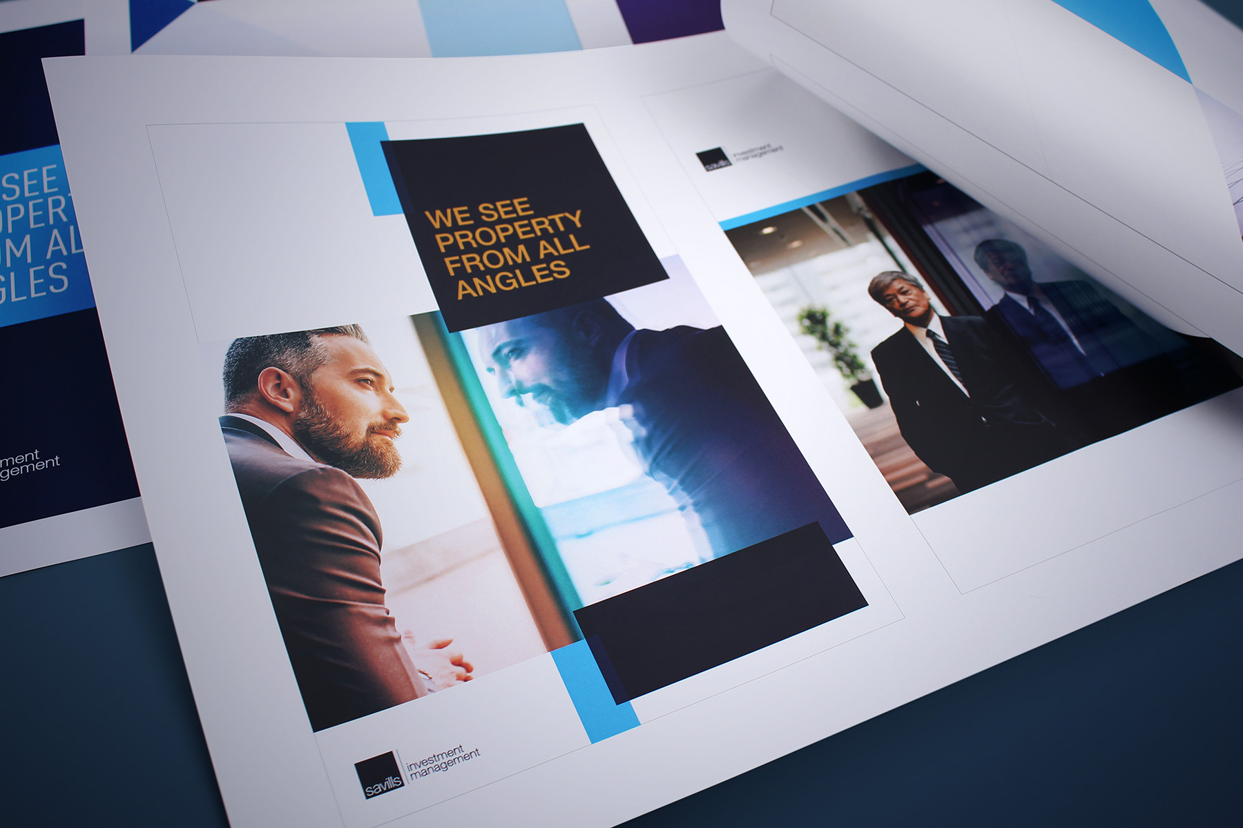 Our concept utilised an established brand icon, the square; combined with positioning statement and a unique image treatment.