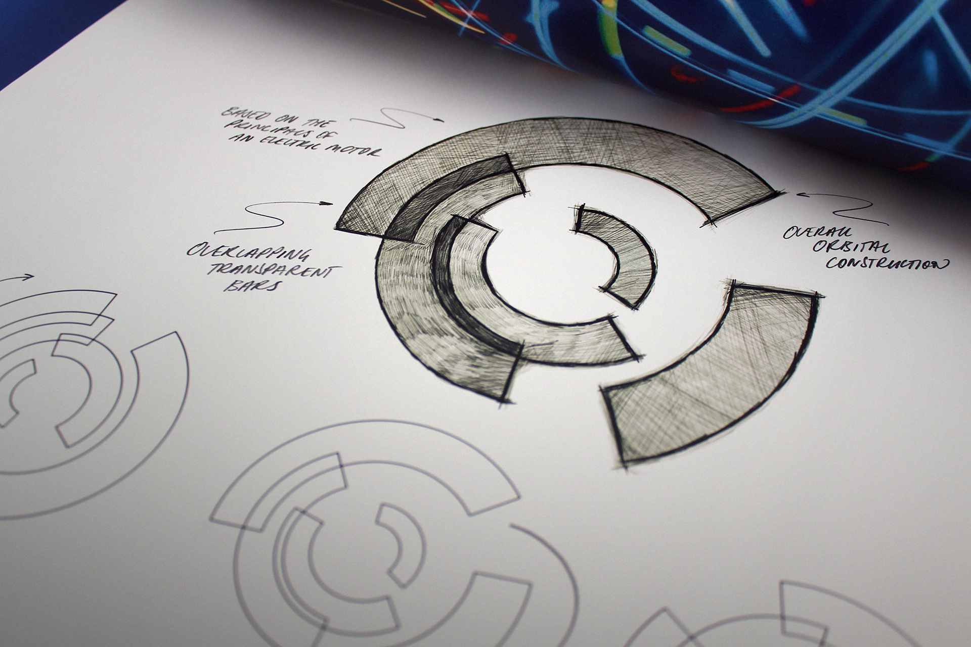 The chosen brand identity was created on the basis of a dynamic identity whereby the brand symbol comprises a variety of harmonious moving parts.
