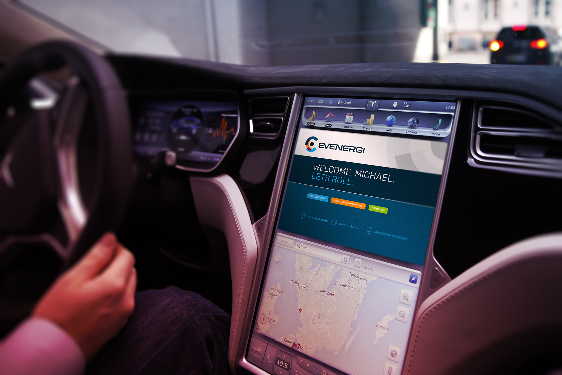 Evenergi also has a technology proposition because a large part of their product offer relates to apps which assist EV drives in understanding energy consumption.