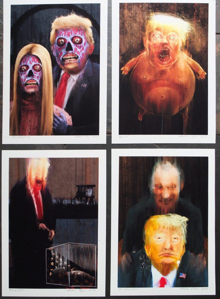 wefail political satirical art