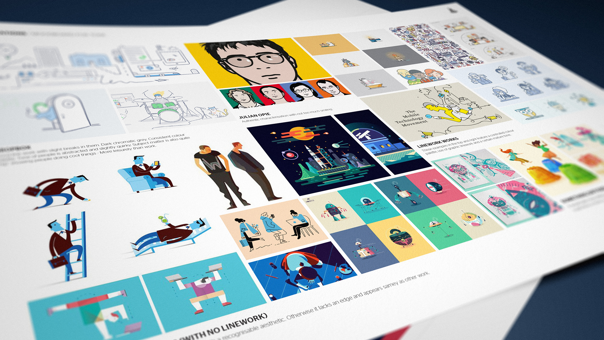 We provided guidance to the internal design team on how to undertake software storytelling using simple illustrations with a balanced colour palette.